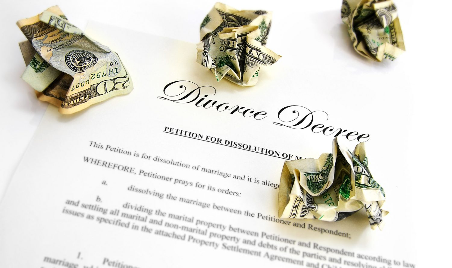 divorce marital property